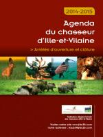 Agenda 2014/2015 - Chasser en Bretagne