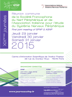 XIX journées - First joint meeting of SFNP and ASNP
