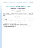 Promotion civile - Grande chancellerie de la Légion d`honneur