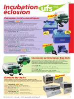 Incubation éclosion - UFS