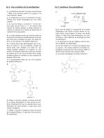 Ex.1. Une synthèse de la méthadone Ex.2.