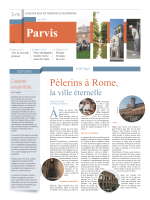 Pèlerins à Rome, - Diocèse Poitiers