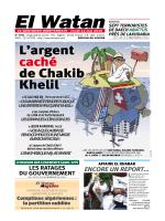L`argent caché de Chakib Khelil