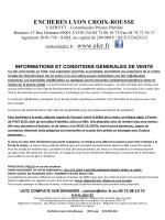 ENCHERES LYON CROIX-ROUSSE - ELCR : Enchères Lyon Croix