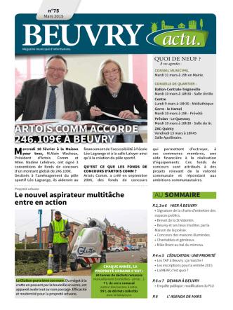 Beuvry Actu N°75 - Ville de Beuvry