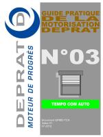 Notice réglage emetteur Radio Deprat