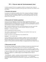 TP1 : environnement Unix - LISIC - Université du Littoral Côte d`Opale