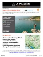 Grand Tour du Monténégro