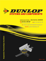 DUNLOP Nouveau Catalogue suspension