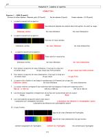 Evaluation.5 : Lumières et spectres CORRECTION