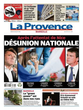 Après l`attentat de Nice