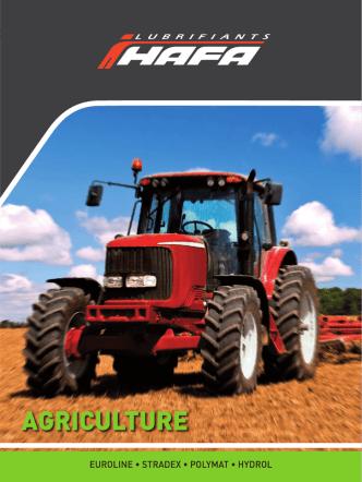AGRICULTURE - HAFA Lubrifiants
