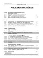 DSCG 4 - Table des matières