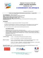 COMPTE RENDU STAGE REGIONAL ENTRAINEMENT PRE