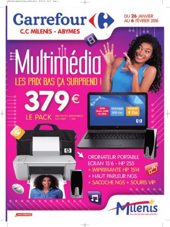 CARREFOUR HYPERMARCHÉ Multimédia Du 26/01 au 6