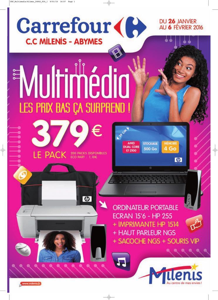 Carrefour Hypermarché Multimédia Du 2601 Au 6