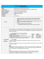 COMPTE RENDU REUNION CLUSTER DU 12 AOUT 2014