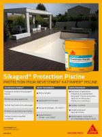 Fiche marketing : Sikagard Protection Piscine