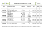 Liste des matériels qualifiés OTC-LAN - UTAC-OTC