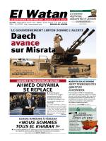 Daech avance - Algérie 2015