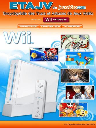 Astuces Solution ETAJV Wii Games