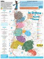 Retrouvez les fermes participantes dans la Drôme