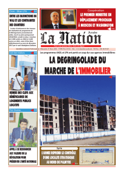 Mise en page 1 - La Nation Arabe