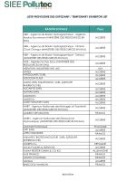 Ne pas utiliser_SIEE Pollutec ALGERIE 2014_Liste