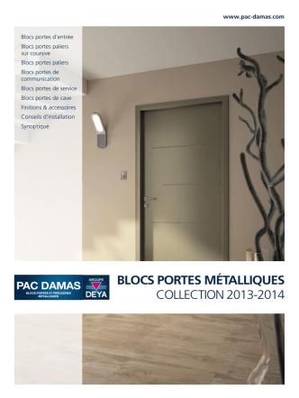 Blocs portes métalliques, Nuancier, Solutions anti