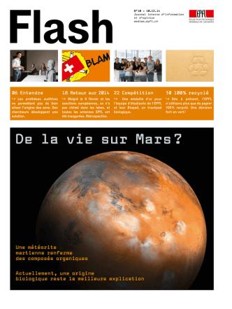 De la vie sur Mars ? - Communication et médias EPFL