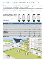 RELEVAGE DES EAUX - STATIONS DE POMPAGE SPM