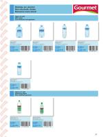 Bebidas sin alcohol Non-alcoholic drinks Boissons