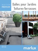 Brochure Dalles sur Plots Sélection Premium