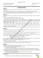 TD - 2014 - LOLB - Physique Chimie au lycée par Wahab Diop LSLL
