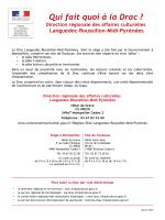 Drac LRMP - Janv. 2016 - Ministère de la Culture et de la