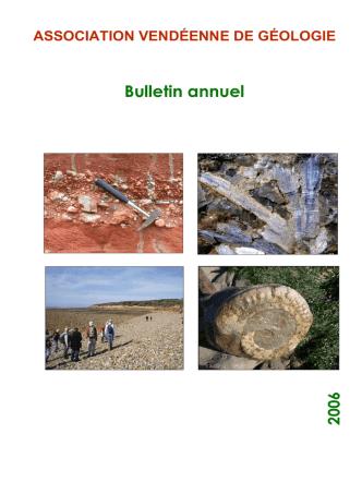 AVG.Bulletin 2006 - Association Vendéenne de Géologie