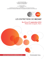 Programme final 2014 - Les Entretiens de Bichat