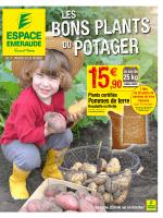 Pommes de terre - Espace Emeraude
