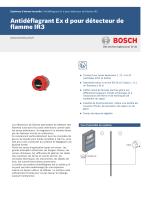 Antidéflagrant Ex d pour détecteur de flamme IR3