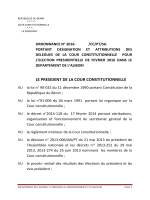 Lire - La Cour Constitutionnelle du Bénin