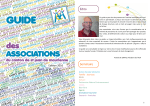Guide des associations 2016 - ACA de Saint Jean de Maurienne