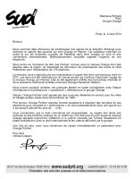 Stéphane Richard PDG Groupe Orange Paris, le 4 aout 2014