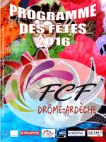 programme des fêtes 2016 - Federation des Comites des Fetes