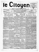 Mars 1929 - Site en travaux, le week