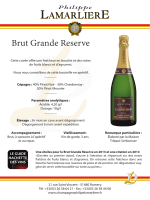 Brut Grande Reserve PL - Champagne Philippe Lamarliere