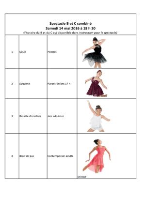 Costumes - Studio Rythme & Danse
