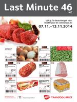–.95* –.29* - Prodega - Transgourmet Schweiz AG