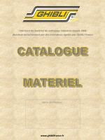 Ghibli Catalogue gamme des produits