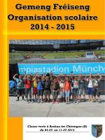 Classe verte à Aschau im Chiemgau (D) du 04.07. au