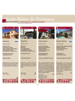 Locations de vacances Appartements/parties de maisons Saint